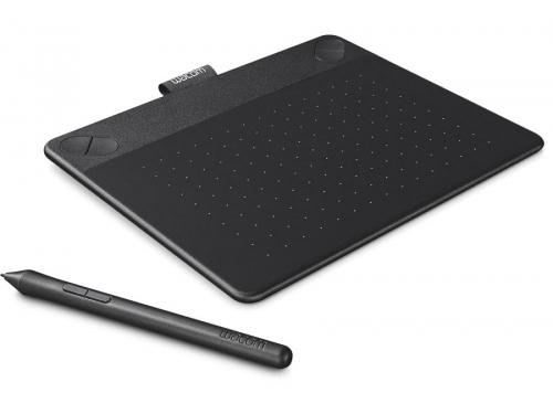 Планшет для рисования WACOM Intuos Comic Pen & Touch Small (CTH-490CK-N), чёрный, вид 1
