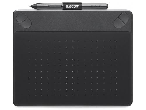 Планшет для рисования WACOM Intuos Comic Pen & Touch Small (CTH-490CK-N), чёрный, вид 2