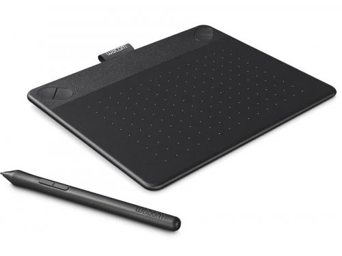 Планшет для рисования WACOM Intuos Art Pen & Touch Small Tablet, чёрный, вид 1