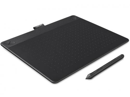 Планшет для рисования WACOM Intuos Art Pen & Touch Medium Tablet, чёрный, вид 1
