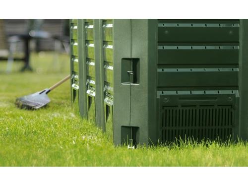 Компостер садовый Prosperplast Module, зеленый (1200 л), вид 2
