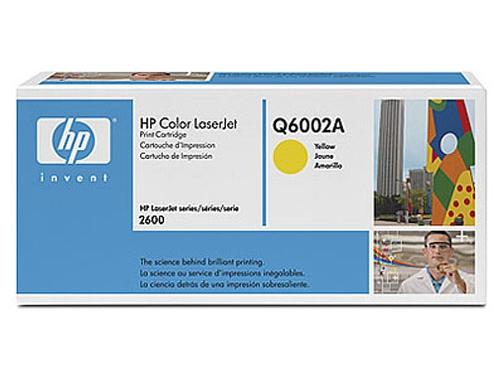 Картридж для принтера HP 124A Q6002A Yellow, вид 1
