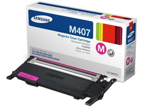 Картридж для принтера Samsung CLT-M407S (CLT-M407S/SEE) Magenta, вид 1