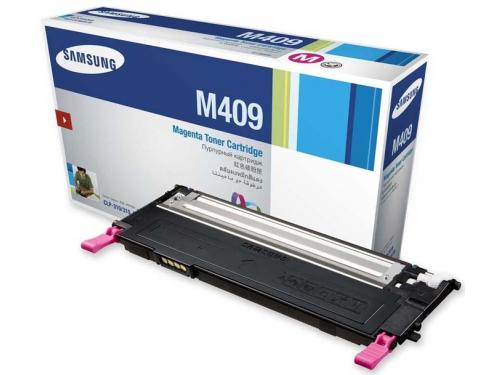Картридж для принтера Samsung CLT-M409S, пурпурный, вид 1