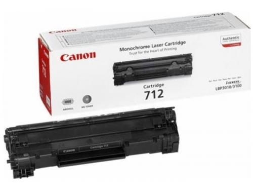 Картридж для принтера Canon 712, черный, вид 1