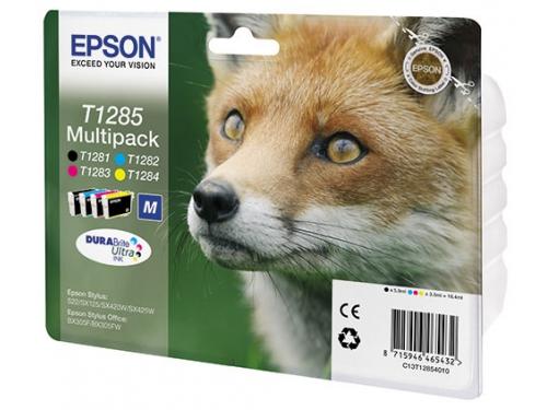 Картридж Epson T1285 Multipack (4 цвета), вид 1