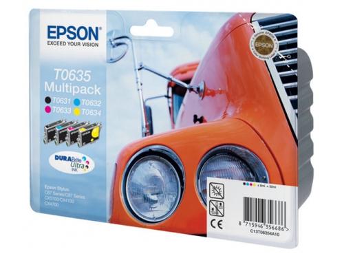 Картридж Epson T0635 Multipack, вид 1