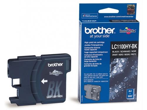 Картридж для принтера Brother LC1100HYBK Black, вид 1