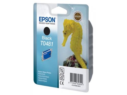 Картридж Epson T0481 Конёк Black, вид 1