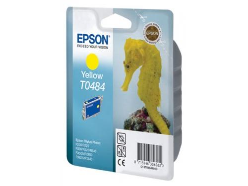 Картридж Epson T0484 Конёк Yellow, вид 1