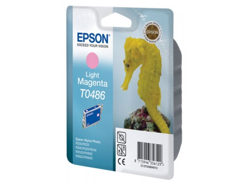 Картридж Epson T0486 Конёк Light Magenta, вид 1