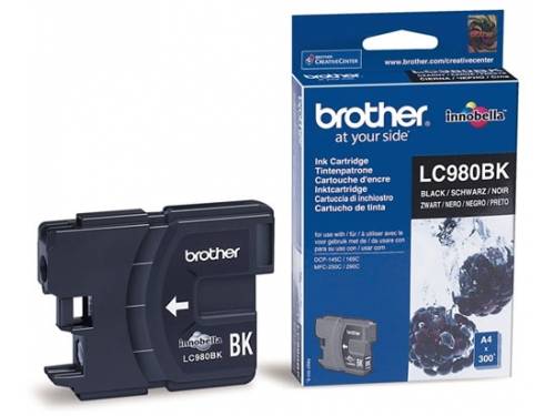 Картридж Brother LC980BK черный, вид 1