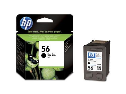 Картридж HP 56 C6656AE Black, вид 1