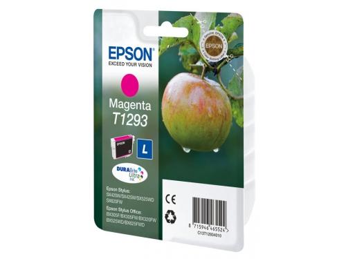 Картридж для принтера Epson Т1293 Яблоко Magenta, вид 1
