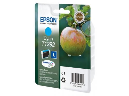 Картридж Epson Т1292 Яблоко Cyan, вид 1