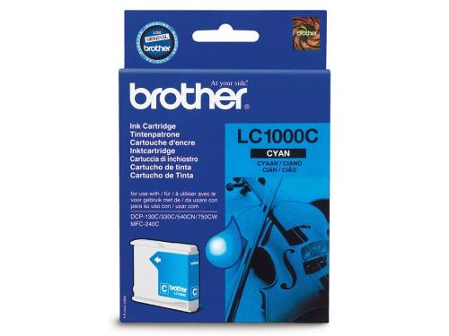 Картридж Brother LC1000C голубой, вид 1