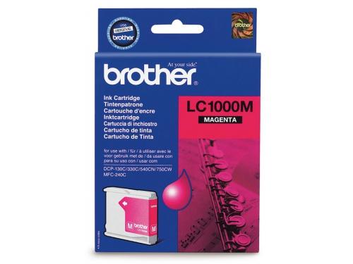 Картридж для принтера Brother LC1000M Magenta, вид 1