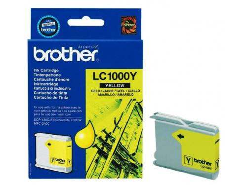Картридж Brother LC1000Y жёлтый, вид 1