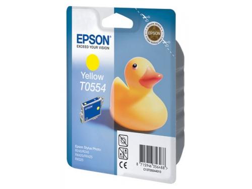 Картридж для принтера Epson Т0554 Утёнок Yellow, вид 1