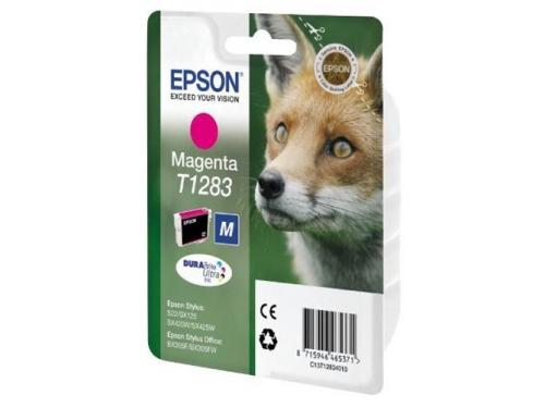 Картридж для принтера Epson T1283 Лиса Magenta, вид 1