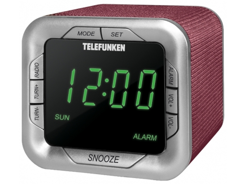 Радиоприемник Telefunken TF-1505 Burgundy/Green, вид 1