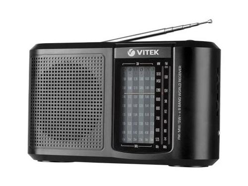 Радиоприемник VITEK VT-3590 BK Чёрный, вид 1