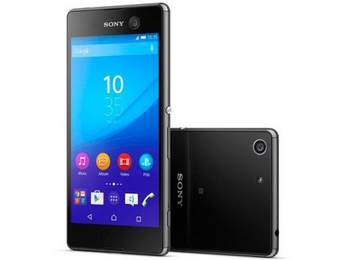 Смартфон Sony Xperia M5 E5603, чёрный, вид 1