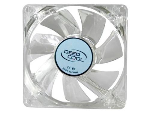 Кулер DeepCool Xfan 80L/B синяя подсветка, вид 1