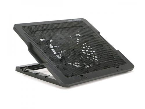 Подставка для ноутбука ZALMAN ZM-NS1000 (охлаждающая, 13'', 2xUSB), чёрная, вид 1