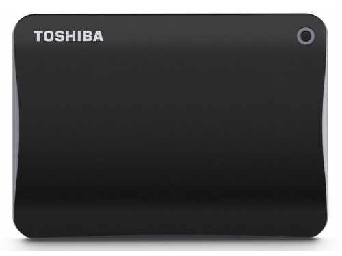 Жесткий диск Toshiba Canvio Connect II 500GB, чёрный, вид 1