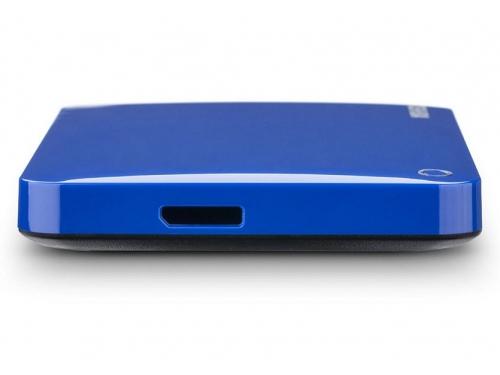 Жесткий диск Toshiba Canvio Connect II 500GB, синий, вид 3