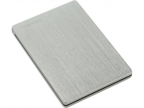 Жесткий диск Toshiba STOR.E SLIM 500GB, серебристый, вид 3