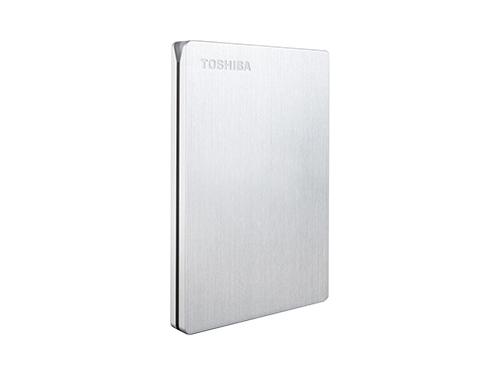 Жесткий диск Toshiba STOR.E SLIM 500GB, серебристый, вид 2