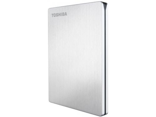 Жесткий диск Toshiba STOR.E SLIM 500GB, серебристый, вид 4