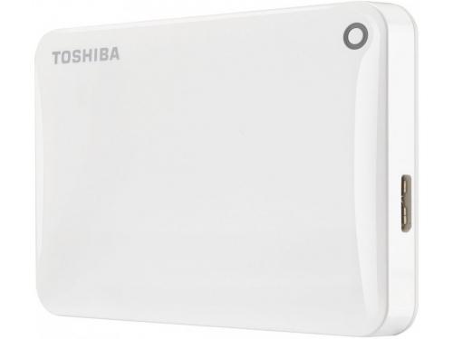 Жесткий диск Toshiba Canvio Connect II 2TB, белый, вид 1