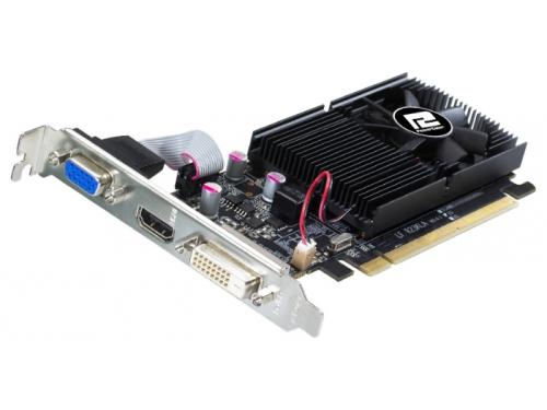 Видеокарта GeForce PowerColor Radeon R7 240 600Mhz PCI-E 3.0 2048Mb 1600Mhz 64 bit DVI HDMI HDCP (AXR7 240 2GBK3-HLE), вид 2