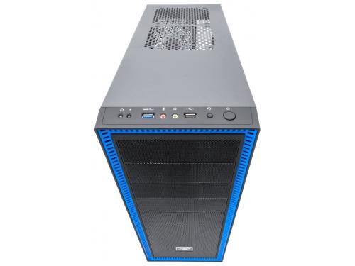Корпус компьютерный ATX Deepcool TESSERACT SW боковое окно, без БП черный, вид 1