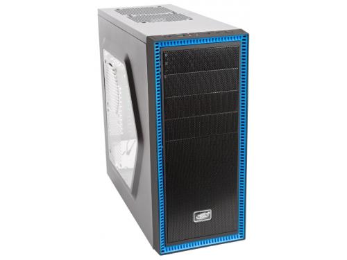 Корпус компьютерный ATX Deepcool TESSERACT SW боковое окно, без БП черный, вид 2