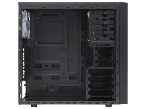 Корпус компьютерный ATX Deepcool TESSERACT SW боковое окно, без БП черный, вид 3