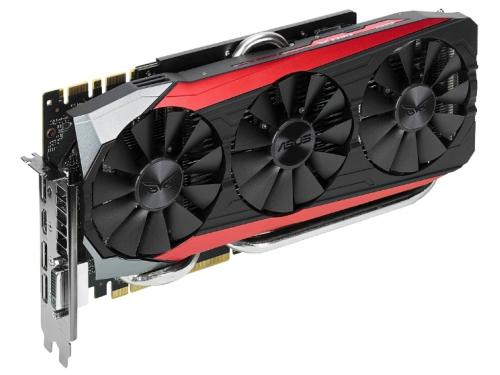 ���������� GeForce ASUS GeForce GTX 980 Ti 1000Mhz PCI-E 3.0 6144Mb 7010Mhz 384 bit DVI HDMI HDCP STRIX (STRIX-GTX980TI-DC3-6GD5), ��� 2