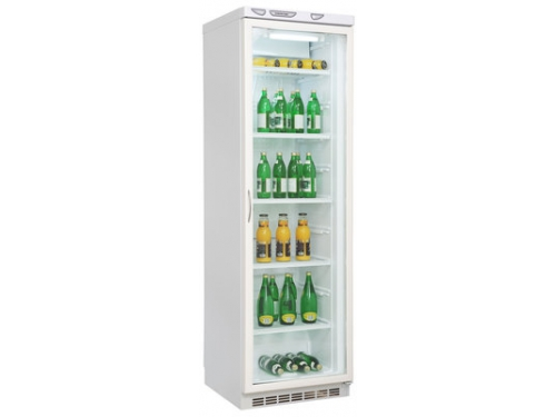 Холодильник Саратов 502 (кш 300) витрина, белый, вид 1