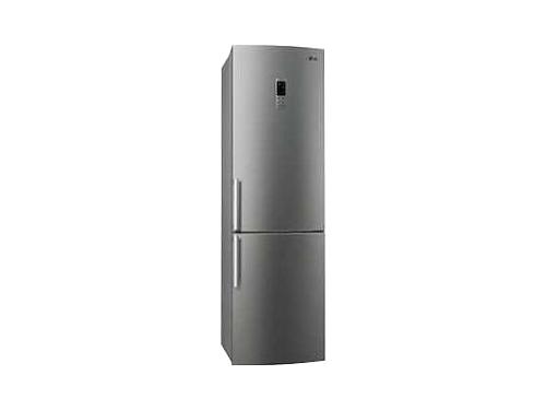 Холодильник LG GA-B489YMQZ нержавеющая сталь, вид 1