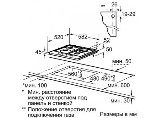Варочная поверхность Siemens EC645PB80E, вид 2