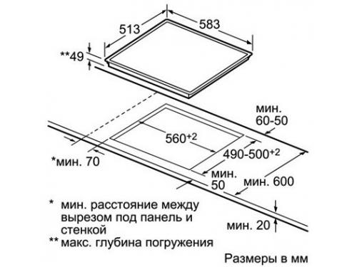 Варочная поверхность Siemens ET645FF17E, вид 2