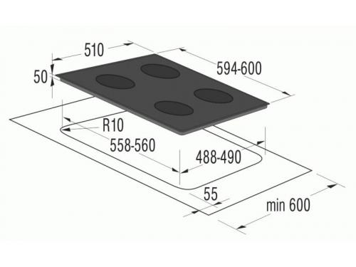 Варочная поверхность Gorenje ECT6SY2B, вид 2