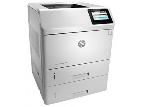 Лазерный ч/б принтер HP LaserJet Enterprise 600 M605x белый, вид 1
