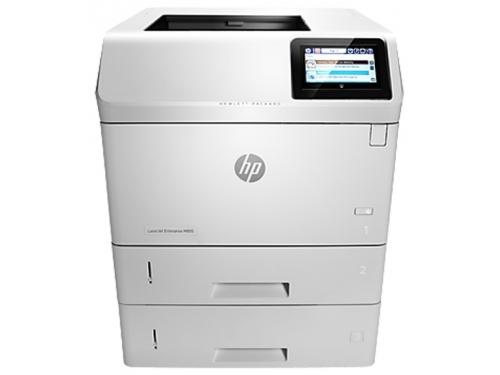 Лазерный ч/б принтер HP LaserJet Enterprise 600 M605x белый, вид 2