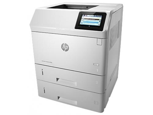 Лазерный ч/б принтер HP LaserJet Enterprise 600 M605x белый, вид 3