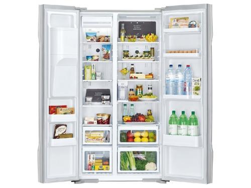 Холодильник Hitachi R-S 702 GPU2 GS белый, вид 2