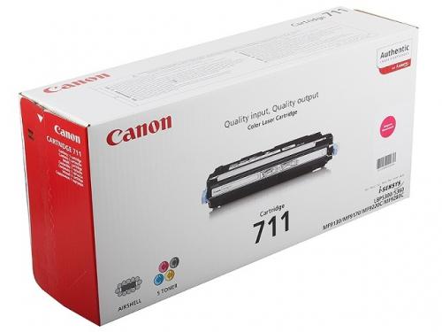 Картридж Canon 711 M, Пурпурный, вид 1
